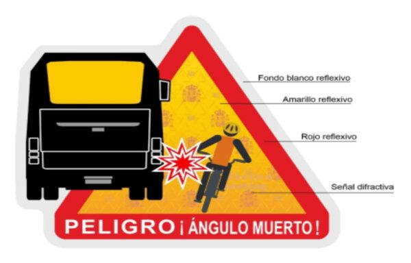 Очередная страна вводит наклейку для грузовиков, предупреждающую о мертвой зоне