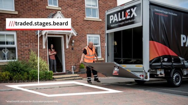 what3words partners with Pall-Ex to improve deliveries