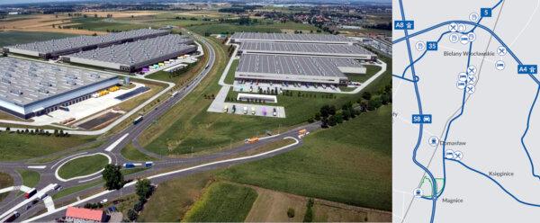 Pod Wrocławiem powstaje magazynowy moloch. 240 tys. mkw przy drodze ekspresowej