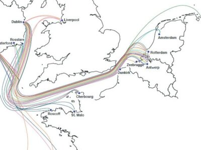 Yet more growth in shipping routes between Ireland and European mainland