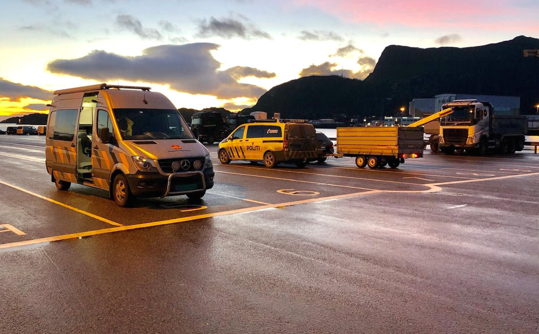 Norvegijoje užsienio vairuotojams netgi už mažą nuobaudą dedamas rato blokatorius