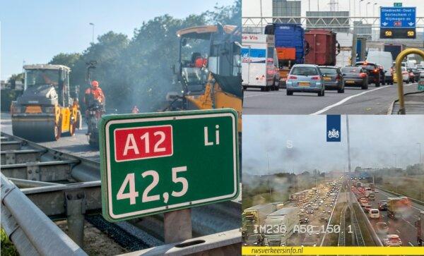 Közlekedési rémálom Hollandiában: 554 kilométernyi forgalmi dugó egyetlen reggelen