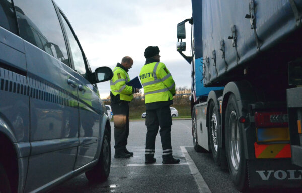 Danish haulage industry furious as 95% of foreign vehicles' parking fees are unpaid