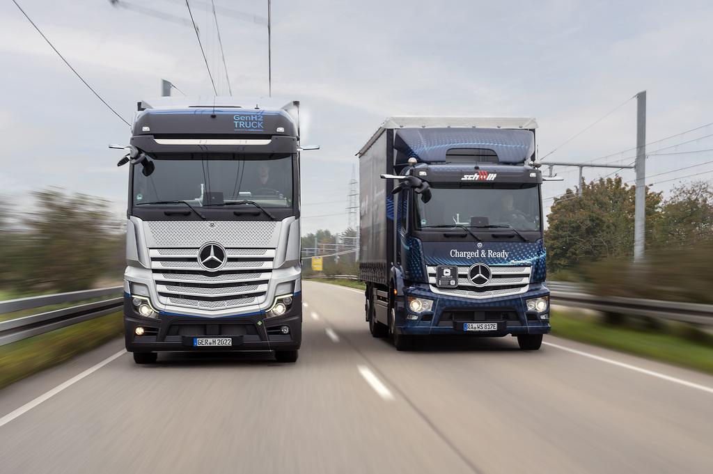 Zielone światło dla wodorowej ciężarówki Mercedesa. GenH2 pojawi się na drogach publicznych