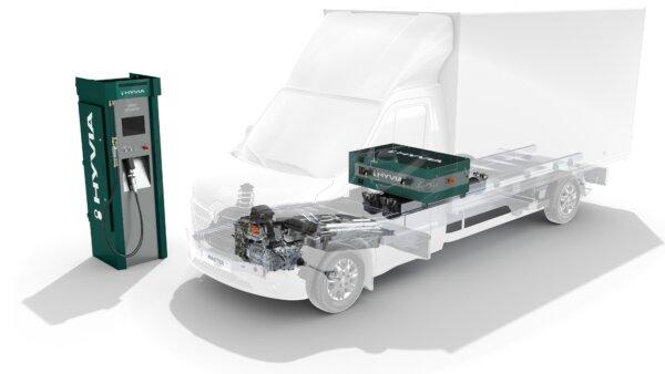 Itt a hidrogénnel hajtott francia furgon. Nézd meg, milyenek a paraméterei!