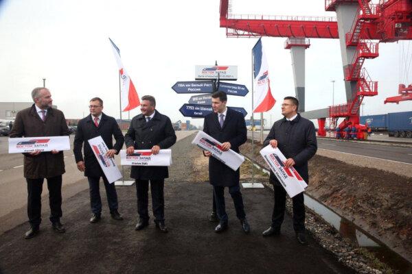 Rosjanie uruchomili terminal kontenerowy – tuż pod nosem Polski