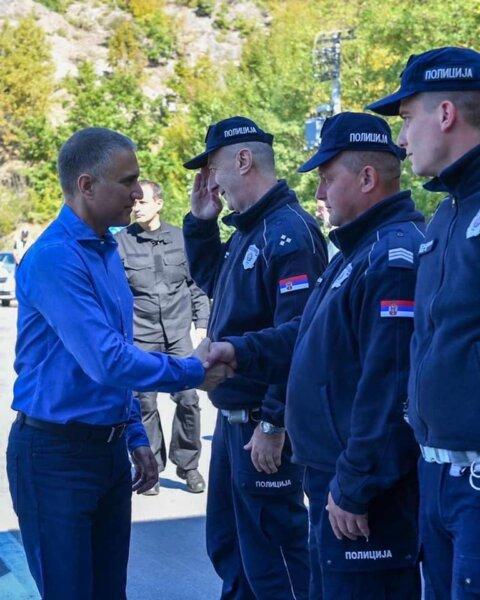 A szerb-koszovói határ ismét kinyílt