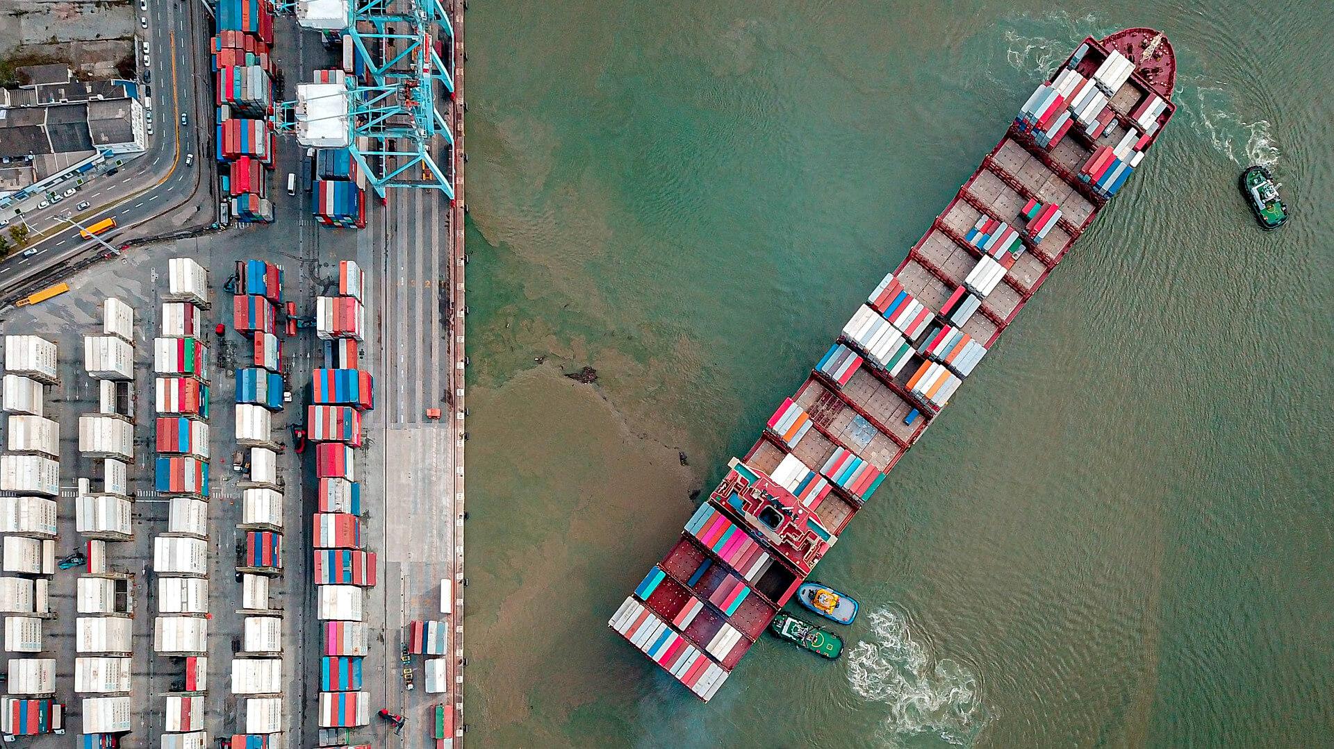 Dėl laivybos tvarkaraščių patikimumo kritimo logistikos bendrovės netenka klientų