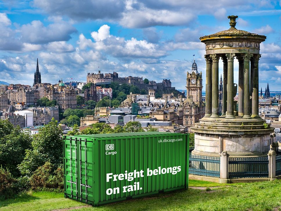 German rail giant wants UK Government to follow Scotland's lead on rail freight