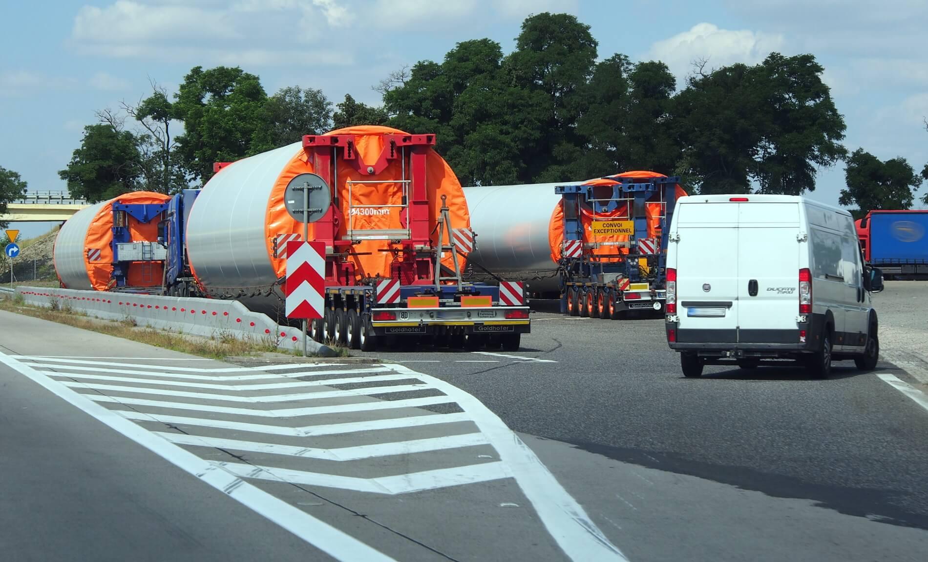 Változások a speciális szállítások terén Dániában. Ezentúl nem a rendőrség fogja kiadni az engedélyeket