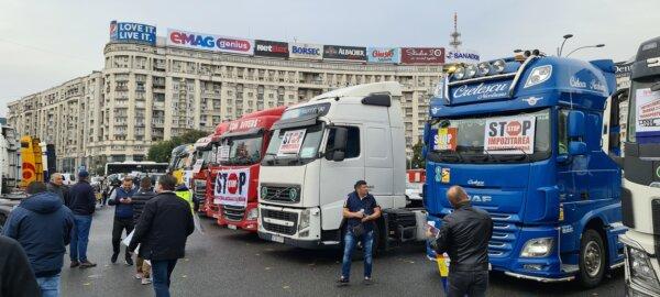 Transportatorii români cer clarificări suplimentare privind măsura exceptării șoferilor profesionișt