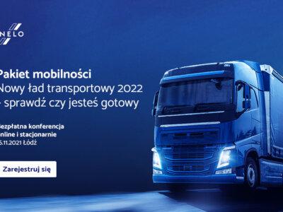 Największa konferencja poświęcona pakietowi mobilności. Nowy ład transportowy 2022 – sprawdź, czy je