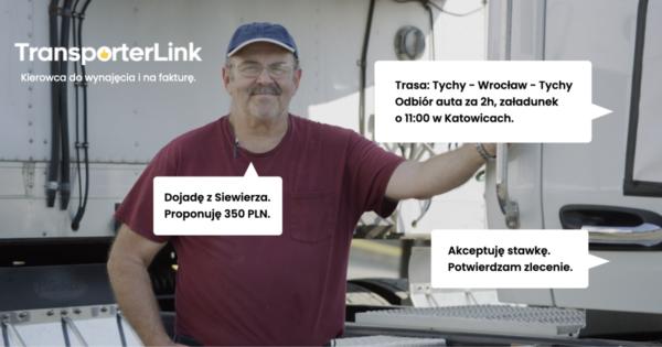 TransporterLink – w kilkanaście minut i bez zbędnych opłat wynajmiesz kierowcę z bazy zweryfikowanyc
