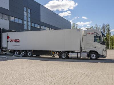 """""""Girteka"""" обновляет грузовой автопарк. Банки Швейцарии, Германии и Великобритании дают компании кред"""