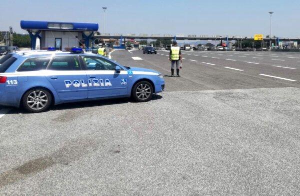 Mandaty za prędkość na podstawie tachografu. Włoski resort tłumaczy, kiedy policja może je wystawiać