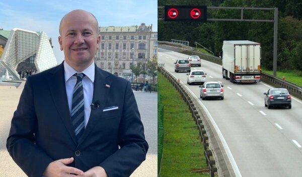 """Poseł PiS chce ograniczenia wyprzedzania się ciężarówek. """"Wielkie zagrożenie na drogach"""""""