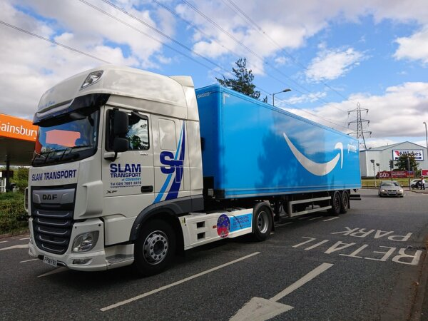 Amazon training more than 400 employees to be lorry drivers