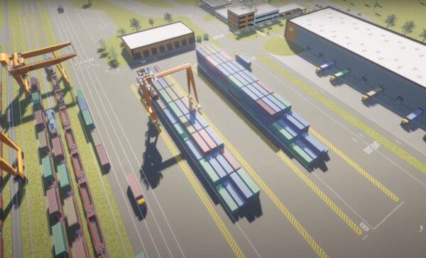 Az East-West Gate-en építik Európa első 5G-vel működő vasúti terminálját