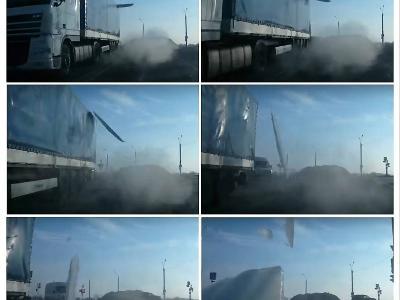 Lód na dachu ciężarówki – obowiązki, możliwości i odpowiedzialność